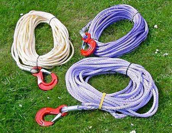 Les cables pour le treuil